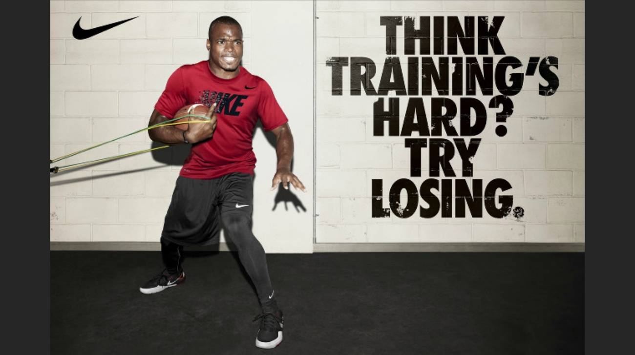 take every advantage athletic training football NFL think training's hard? try losing. aric rist  Adrian Peterson2