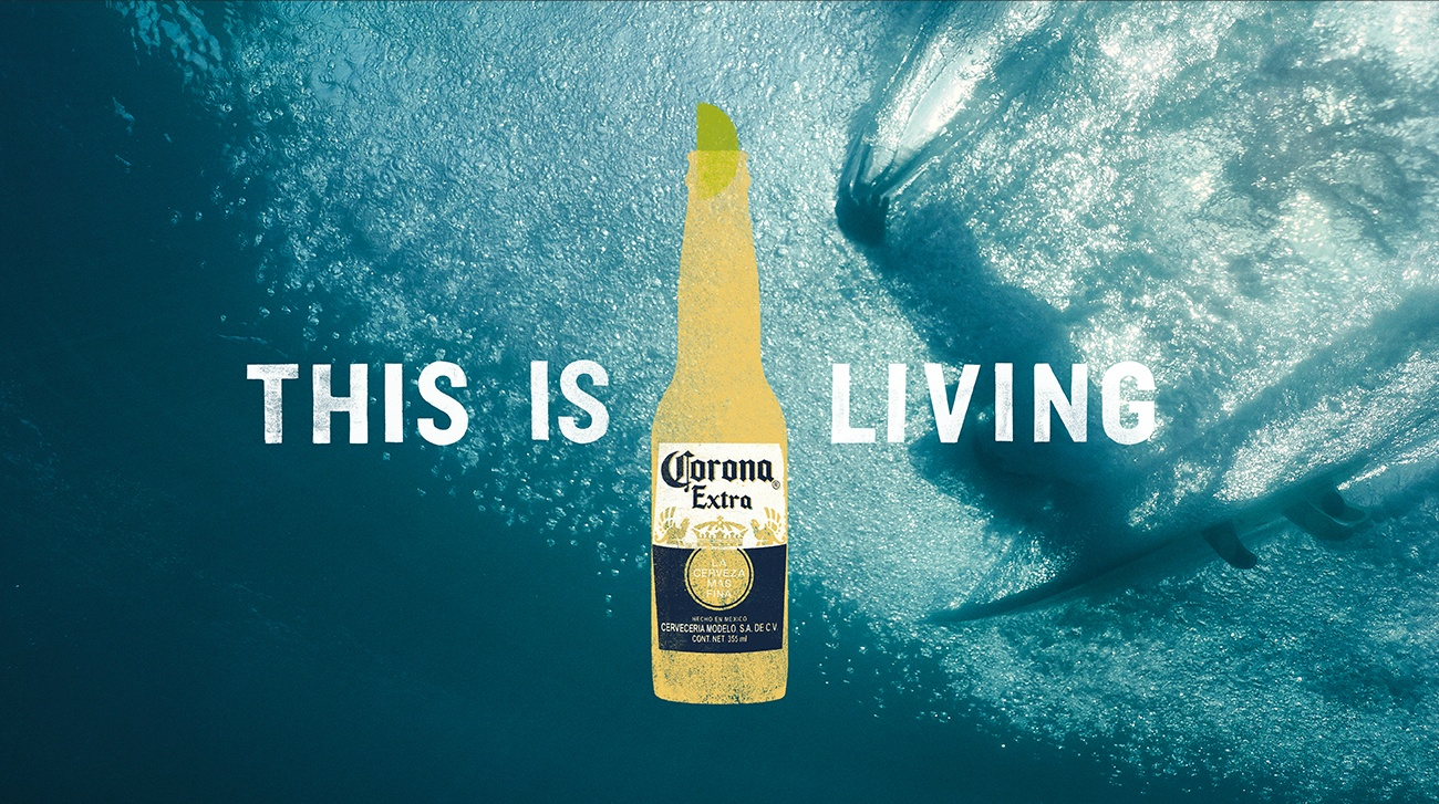 surfing - Corona This is Living Hawaii Oahu Surfing Lifestyle Beer at the Beach MANA ManaMedia Production Company Dani Kiwi Meier Sunset Portland