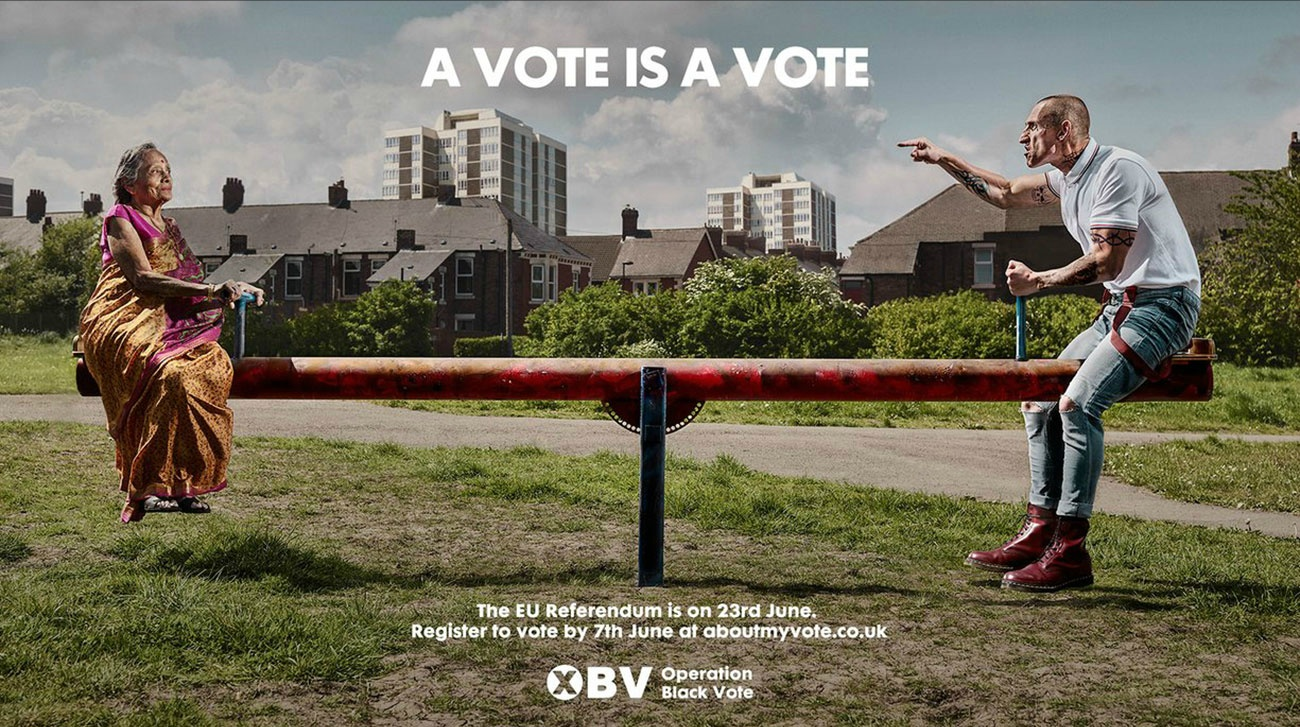 MANA OBV No matter who you are - your vote counts  ManaMedia Production Company Operation Black Vote campaign Saatchi & Saatchi