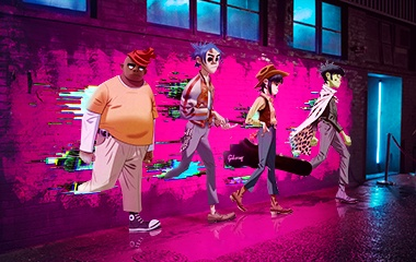 Deutsche Telekom 'Gorillaz' Collaboration
